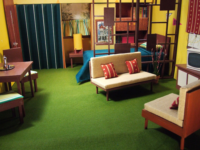 50 Years Of Ken Maryann Roy Welcome Home Neo Retro Furnishings Set Design In 1 6 Scale