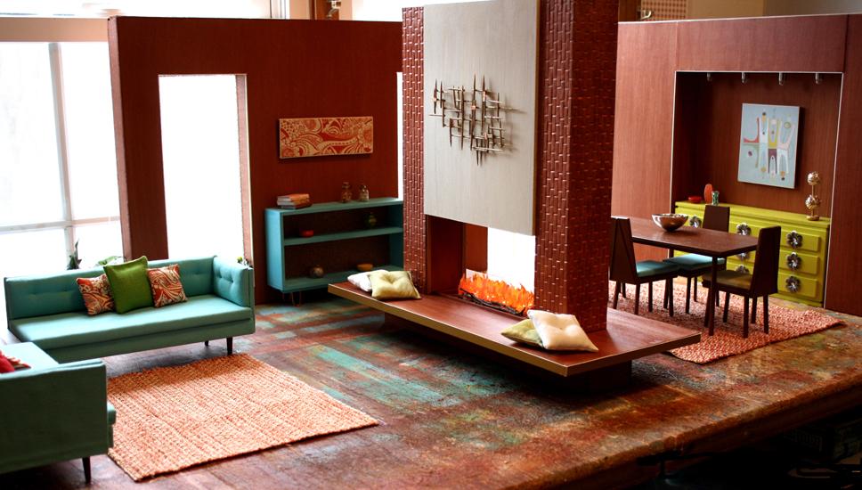 Mid Century Modern House OOAK Spectacular Maryann Roy